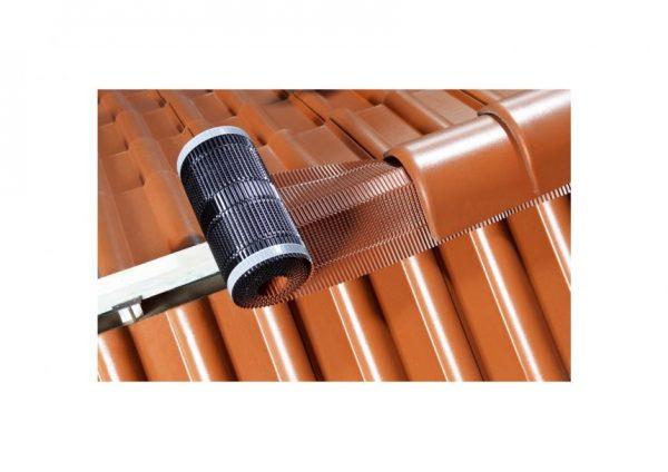 Aluminium-ruiterrol-hoekkeperband-ondervorst-nokband-aanbrengen